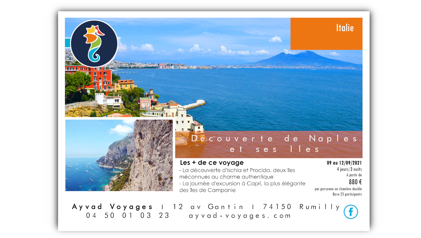 Voyage Groupe Naples